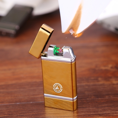 Shaking Burning Double Arc Lighter AL27